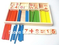 Teach beginners the mathematical race association Wooden toys Free shipping Best selling!