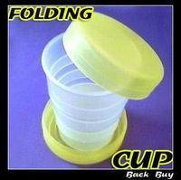 5pcs/lot Free shipping wholesale outdoor water cup,folding portable water cup,travelling cup ,BB237