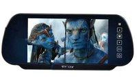 Free Shipping! 7'' TFT LCD Color Display Screen Car Monitor rearview Mirror camera  vehicle MP5