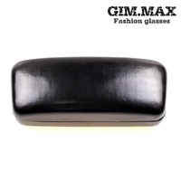 prescription glasses Metal glasses case black leather top quality glasses case myopia box sunglasses box TB2