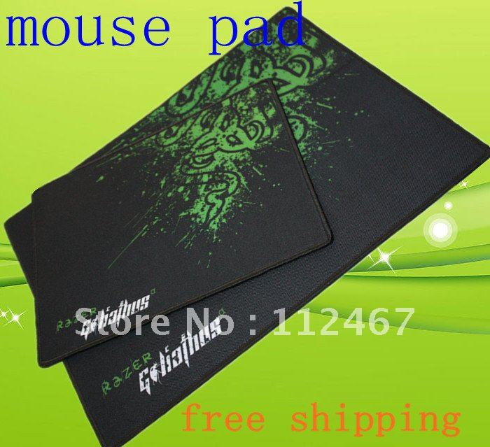 OEM Boxed!!!Razer Goliathus Mouse pad / Size: 320*250*4.0/Speed version Gaming Mouse Pad +Free Shipping(China (Mainland))