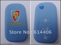 High Quality Eco-friendly Silicone Car Key Case For Roewe Perfect Promotional Gift (20pcs/lot)