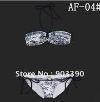 Hot selling gifts Bikini swimwear/hot sexy style/Classic + fashion/ 10set/lot white+blue  free shipping by DHL