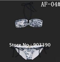 Hot selling gifts Bikini swimwear/hot sexy style/Classic + fashion/ 10set/lot white+blue  free shipping by DHL