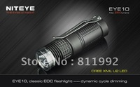Niteye EYE10 XM-L U2 LED 260LM classic hang buckle type dynamic move light EDC mini led flashlight