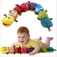 Free shipping for  wholesale order achieve $18 Baby toy  music caterpillar multifunctional