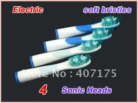 300packs  Free shipping! electric SONIC toothbrush with four toothbrush heads,tooth brush,electric toothbrush
