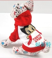 Wholesale - Hot Selling Magic Babe, the New Astro Boy winter Coat, Pet Clothes,10pcs/lot+ Free Shipping