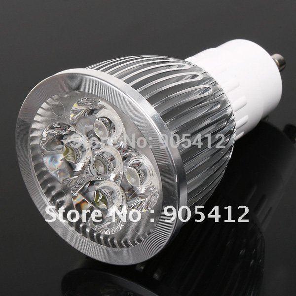 wholesale price gu10 led bulb 4*1W led light lamp 400lm two years warranty free shipping(China (Mainland))