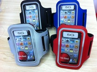 Free shipping Armband for iPhone 5 Neoprene Gym Workout Running Sport Arm Band Case For iPhone5 5G