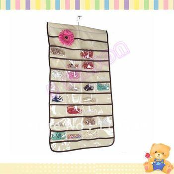 Jewelry Hanging Storage Organizer Display Bag 80 Pocket 2097