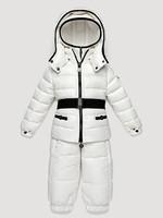 2012 winter children's down sets,baby down coat,boys girls down coat set white