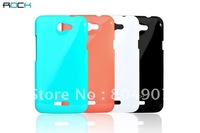 Free Shipping Rock Quicksand Series Polycarbonate Hard Back Case For ROCK HTC One V Primo Mobile Phone Case