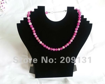 2PCS Black Necklace Displays Stands,free shipping