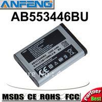 Best battery AB553446BU for samsung B2100 C3300 Xplorer  B100 SCH-B619 C3300K Hello Kitty C5212 Duos C5212i C5130 1000mAh