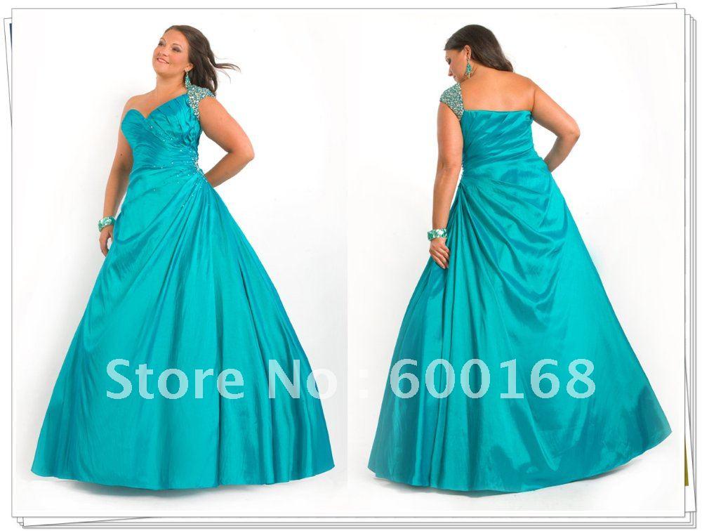 One Shoulder Red Prom Dresses Plus Size One Shoulder Chiffon Floor