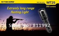 Free shipping NITECORE MT25 CREE XP-G R5 390 lumens LED Flashlight Multi-Task series Torch