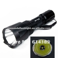 Romisen RC-T602 CREE XML T6 1200LM 5-Mode LED Flashlight (1x18650)