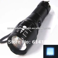 MXDL SA-32 CREE XML T6 1000LM 5-Mode Zooming LED Flashlight with Nylon Holster(1x18650 / 3xAAA)