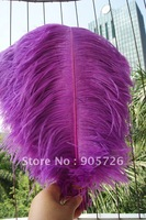 Free Shipping 100pcs/lot 14-15 inches Dyed Lavender Ostrich Feather Plume for wedding centerpiece