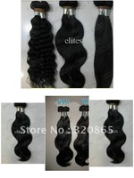 Wholesale    Virgin Human Hair Weave Remy Hair body wave 5pcs/lot 1B BAA007   20''/22''/24''/26''/28''/pc   5 Piece  /  Lot