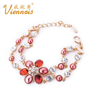 VIENNOIS accessories fashion crystal vintage princess bracelet birthday gift