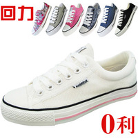 WARRIOR single shoes skateboarding shoes lovers canvas sport  shoes