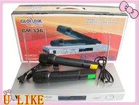 2x Wireless Microphone Mic Cordless DJ Karaoke System Brand new and free shipping