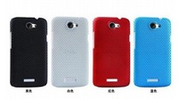 11 colors For One X Case, Perforated Mesh Back Cover Case for HTC One X XL ,100pcs/lot High Quality Free Shipping