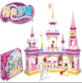 2013 Small luban blocks model of the futhermore - pink magic
