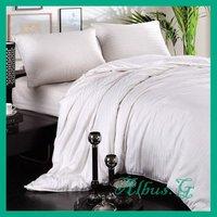 Free Shipping 100% Mulberry Silk Filled Quilt Duvet Comforter Super King 3.5kg 16 Tog For Cold Winter White