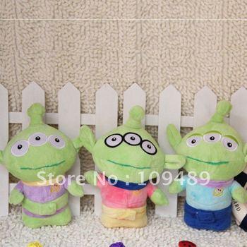 "Free shipping 7"" three 3 eyes Sangan High Quality Soft Plush Plush Doll New Wholesale"