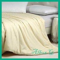 Free Shipping 100% Mulberry Silk Filled Quilt Duvet Comforter Super King 3.5kg 16 Tog For Cold Winter Beige