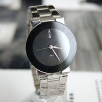 2012 New style.Wholesale,Personality black waterproof quartz watch classic women's watch, Nice gift item, Free shipping