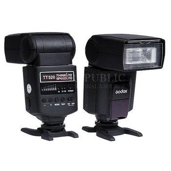CAM REPUBLIC -  TT520 Speedlite Flash light For Canon Nikon Sony DSLR Camera  free shipping ! Free Shipping