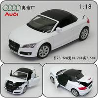 AUDI cars AUDI tt roadster alloy car models white soft 1947 alloy car model