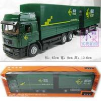 Alloy commercial cars card inertia car truck car toy