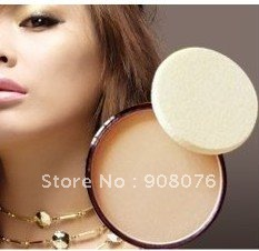 Best selling! Dry wet amphibious face pressed powder cake mixed oil special to makeup face beauty 0.48OZ 5pcs/lot Free shipping(China (Mainland))