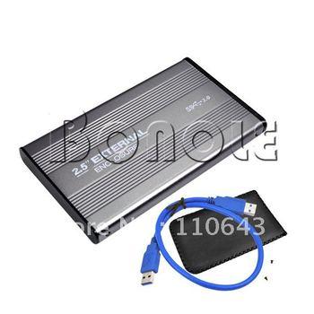 """Holiday Sale!  USB 3.0 2.5"""" SATA HDD Hard Drive External HDD Enclosure Case 1842"""