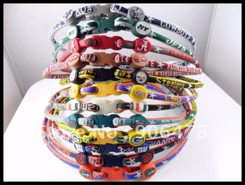 Free Shipping 100PCS/lot NCAA Fashion Sport  Necklaces 27 Teams For Choice Mix Teams and Sizes