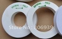 Size:150x25x70(Bore) mm ,High quality!! Felt Polishing wheels  for Glass Edge Final Polishing