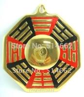 Feng Shui Convex&Concave Brass Bagua Mirror Pakua