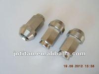 Gr5 titanium heptagon special lug nut auto