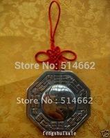 "3.3""Real Brass Feng Shui Bagua Mirror/Pa Gua/Fortune"