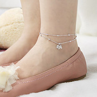 Sunshine jewelry store fashion full rhinestone studded dog anklets ( $10 free shipping )