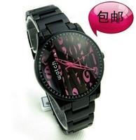 Sinobi watch fashion fresh three-dimensional literal watches for women ladies watch
