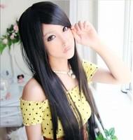 новый дизайнер женщин к 2015 милая сексуальная романтические длинные прямые синтетические парики wl103