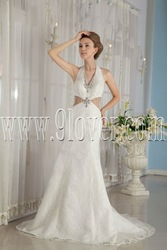 2012 Junoesque wedding dress .Hot selling style.(China (Mainland))
