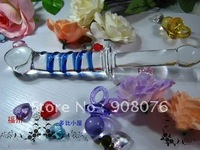 Best selling! Unique imitation ejaculation function sex fake penis glass dildo realistic Adult Products 1PCS Free shipping