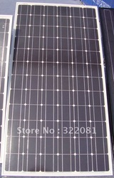 185W monocrystalline silicon solar panel,high quality,high efficiency,low price,25 years warranty,(China (Mainland))